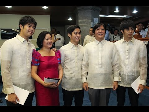 Sen. Bongbong Marcos - Opening of the 2nd Regular Session of the 16th Congress