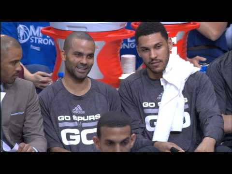 Tony Parker Mic'd Up During Game 3 in Dallas
