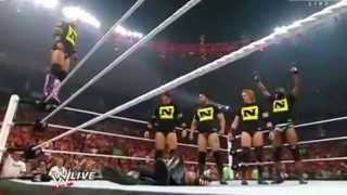 KANE AND NEXUS ATTACK THE UNDERTAKER WWE RAW