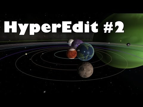 Kerbal Space Program - Messing around with HyperEdit #2
