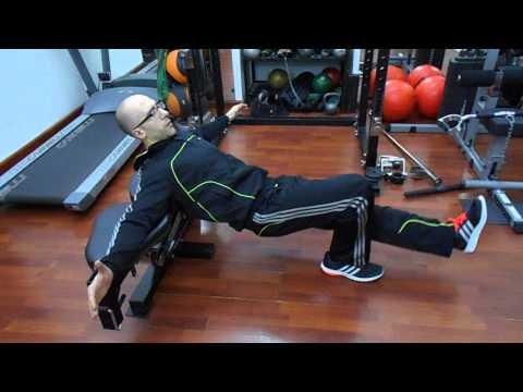 Glutei : Hip thrust a una gamba