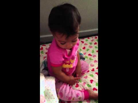 Baby Ireland Wakes To Elmo Theme video