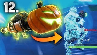 PUMPKIN LAUNCHER #1WIN..!! | Fortnite Battle Royale Moments Ep.12 (Fortnite Funny Best Moments)