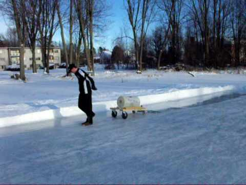 Backyard Zamboni