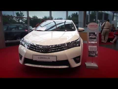Тойота Королла 2013 - LIVE видео обзор