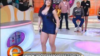 Andressa Soares Mulher Melancia Eliana Sbt Rebolando