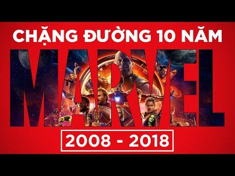 TÓM TẮT 10 NĂM VŨ TRỤ ĐIỆN ẢNH MARVEL (2008 - 2018) en streaming