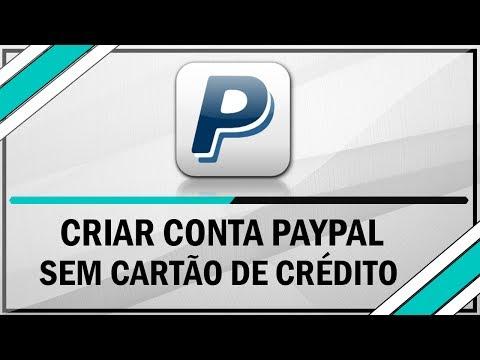 Como criar uma conta Paypal sem precisar do cartão de crédito e CPF (2013)