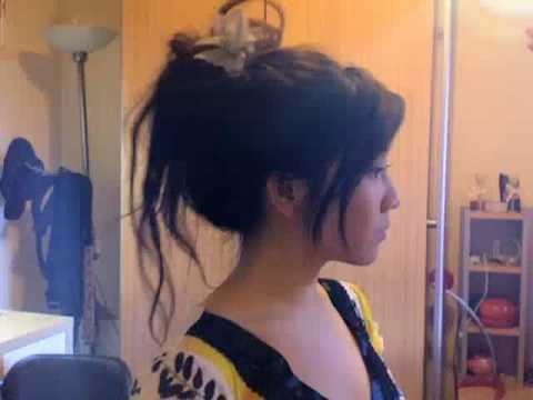 2 Min Spring Updo Video