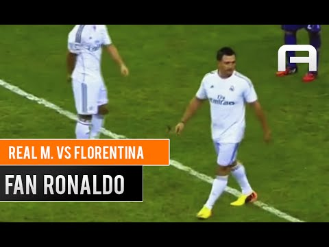 EPIC FAIL: Cristiano Ronaldo Fan on match vs Florentina