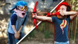 WE BROKE SOMETHING!! | Arrow Dodge Challenge #3