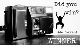 GIVEAWAY WINNER!! - Olympus SuperTrip - Did you win?