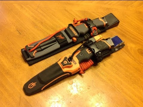 Gerber Bear Grylls Ultimate and Pro Knife Upgrades