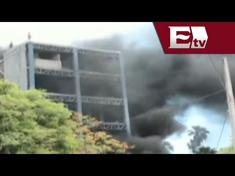Se avienta de edificio tras quedar atrapado por incendio en Culiacán,  Sinaloa   / Todo México