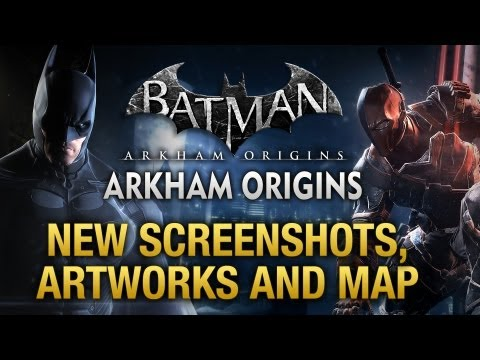 Batman: Arkham Origins - New Screenshots, Artworks and Gotham City Map