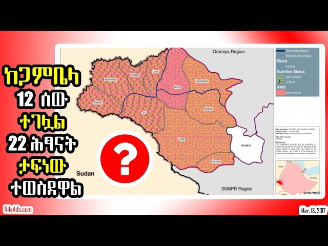 Ethiopia: kidnapped Gambela 22 children by southsudan, Ethiopia - VOA
