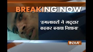 Men kept abusing us and our religion says Shakir the victim of Ballabgarh train incident