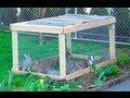 Строим летнюю клетку для мелких животных своими руками за 15 минут! Кролиководство