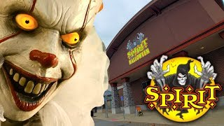 SPIRIT HALLOWEEN 2019 inside ABANDONED MICHAELS CRAFT STORE - WHEELING WEST VIRGINIA