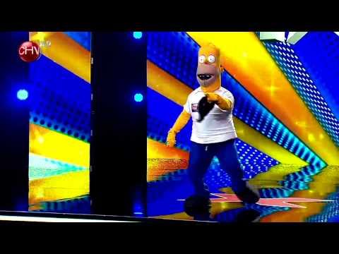 Homero llegó a imitar desde el norte - TALENTO CHILENO 2014