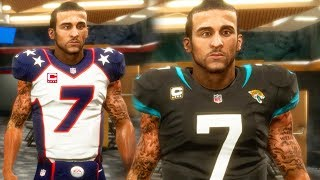 MADDEN 19 FRANCHISE MODE - COLIN KAEPERNICK BECOMES CAPTAIN OF JAGUARS!
