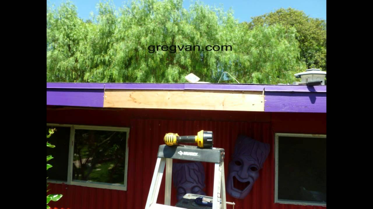 15 Minute Roof Fascia Board Repair Do It Yourself Tips
