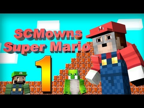 Minecraft - Super Mario Bros Mini-game Part 1!