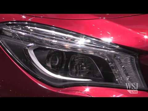 New Mercedes-Benz CLA: Wooing Younger Buyers at the Geneva Motor Show