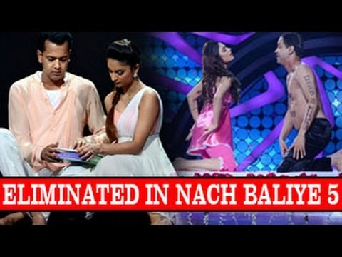 Rahul Mahajan & Dimpy ELIMINATED from Nach Baliye 5 9th February 2013 FULL EPISODE NEWS