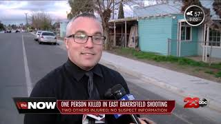 One person killed in East Bakersfield shooting