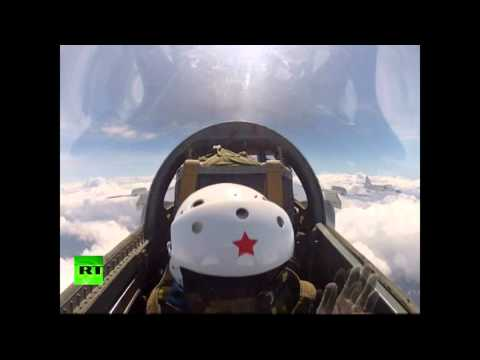Twists & rolls: Chinese Air Force unit perform regular drills