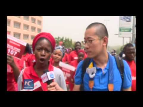 RAW: Abducted girls tell the story of escaping from the terrorists