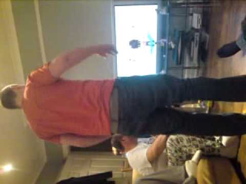 My Sexy Boyfriend Hula Hooping On The Wii Fit video