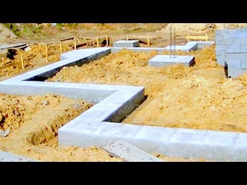 WYKONANIE ŁAW FUNDAMENTOWYCH, HOW TO BUILD A HOUSE, Bau eines Hauses
