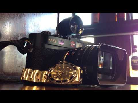 Leica Summilux 24 and Rolex Ref.5513