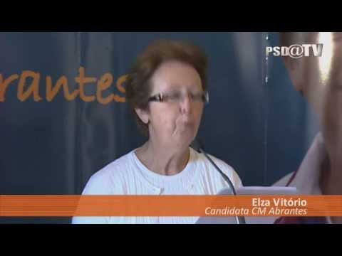 Apresentao Candidatura Elza Vitrio  Cmara Municipal de Abrantes