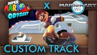 What If Mario Kart Wii Had a Super Mario Odyssey Track?