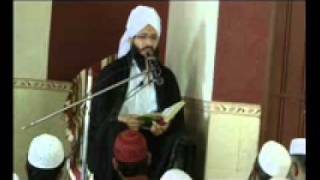 KHANQA HAQANIA......Hazrat Moulana Habibullah Azaad Haqqani in Shariyaa Muzafarabad