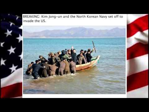 North Korea War on USA Funny Memes/Tweets - HILARIOUS