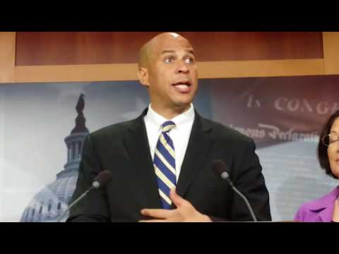 Sen. Cory Booker Speaks Out On Voting Rights
