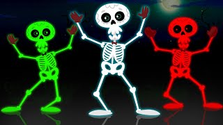 Funny Skeletons Dance With Crazy Zombie & His Monster - BRAND NEW Skeleton Dance Song