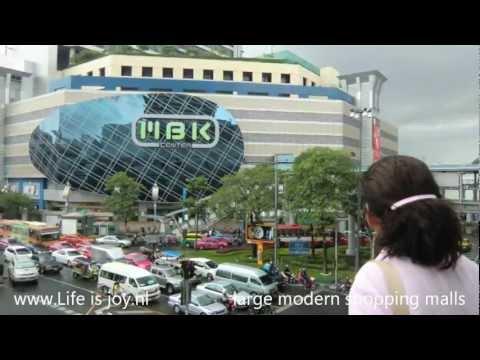 Thailand Bangkok travelreport with Skytrain, Tuk-tuk, boat etc to tourist attractions and malls
