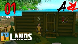 Ylands Ep1 - Great Start (Survival/Crafting/Exploration/Sandbox Game)