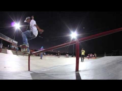 Warrick Delport Slays the Kimberley Maloof Plaza A-Frame Rail