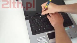Replace keyboard asus F5 series