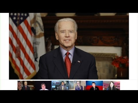 White House Hangout with Vice President Joe Biden on Reducing Gun Violence