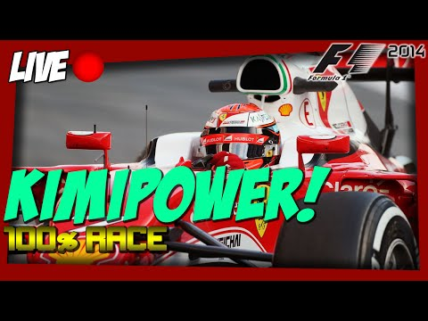 F1 2016 100% Silverstone Race (LIVE F1 2014 Game)