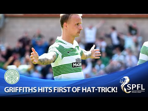 Griffiths scores first goal of brilliant hat-trick!