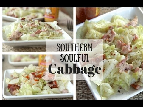 How to cook southern soulful cabbage divas can cook watch me make this soulful southern style cabbage from start to finish forumfinder Gallery