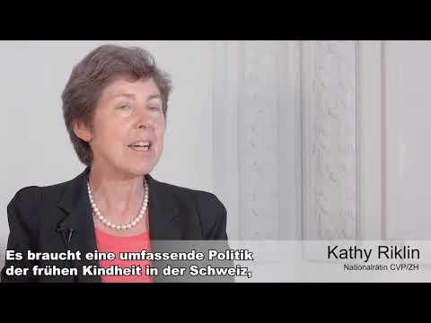 READY! - Botschafterin Kathy Riklin, Nationalrätin CVP/ZH